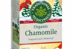 DAILY HERBAL ORGANIC CHAMOMILE HERBAL SUPPLEMENT TEA BAGS