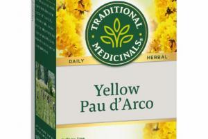 YELLOW PAU D'ACRO HERBAL SUPPLEMENT TEA BAGS