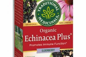 ELDERBERRY ORGANIC PROMOTES IMMUNE FUNCTION SEASONAL WELLNESS TEA BAGS HERBAL SUPPLEMENT