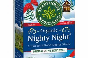 ORIGINAL WITH PASSIONFLOWER ORGANIC CAFFEINE FREE TEA BAGS HERBAL SUPPLEMENT