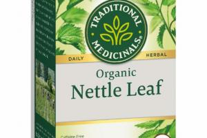 ORGANIC NETTLE LEAF DAILY HERBAL SUPPLEMENT TEA BAGS