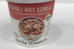 STRAWBERRY HAZELNUT CAULI HOT CEREAL