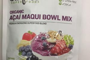 Organic Acai Maqui Bowl Mix
