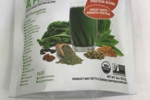 ORGANIC SUPERFOODS PLANT-BASED PROTEIN BLEND