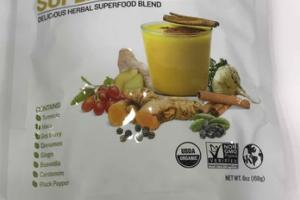 GOLDEN MILK DELICIOUS HERBAL SUPERFOOD BLEND