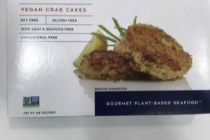 GOURMET PLANT-BASED SEAFOOD VEGAN CRAB CAKES