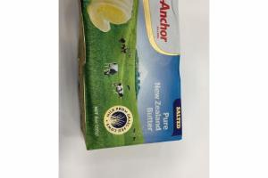 SALTED PURE NEW ZEALAND BUTTER