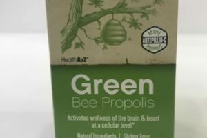 GREEN BEE PROPOLIS DAILY DIETARY SUPPLEMENT VEGETABLE CAPSULES
