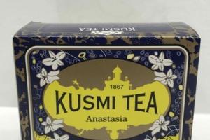 ORANGE BLOSSOM-FLAVORED BLACK TEA WITH BERGAMOT AND LEMON