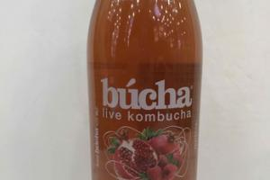 RASPBERRY POMEGRANATE LIVE KOMBUCHA
