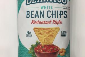 Restaurant Style White Bean Chips