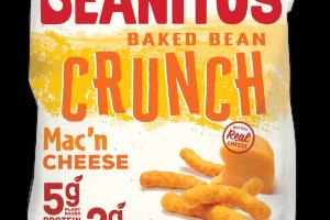 MAC'N CHEESE CRUNCH BAKED BEAN CHIPS