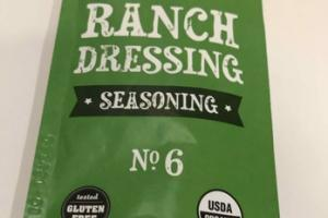 RANCH DRESSING SEASONING