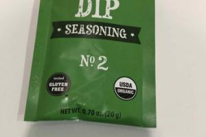 ONION DIP SEASONING