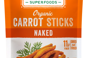 Organic Carrot Sticks