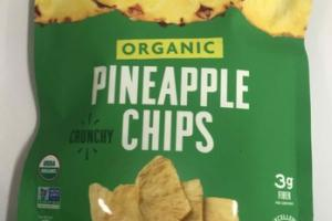 ORGANIC PINEAPPLE CRUNCHY CHIPS