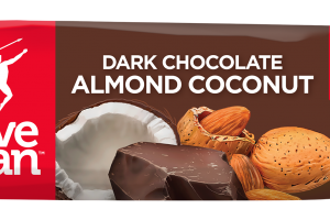 Paleo Dark Chocolate Almond Coconut Bar