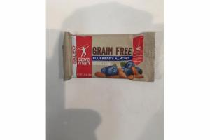 BLUEBERRY ALMOND GRAIN FREE GRANOLA BAR