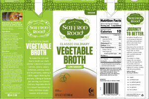 LOW SODIUM CLASSIC CULINARY VEGETABLE BROTH
