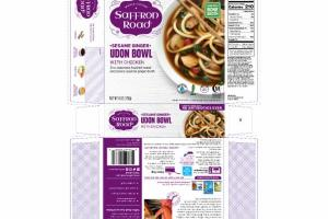 MILD SESAME GINGER UDON BOWL WITH CHICKEN