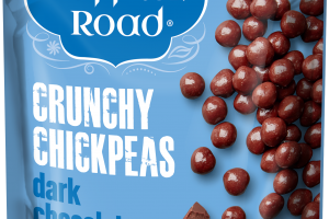CRUNCHY CHICKPEAS DARK CHOCOLATE