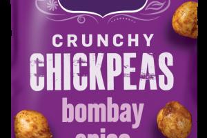 HOT BOMBAY SPICE CRUNCHY CHICKPEAS