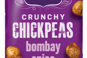 HOT BOMBAY SPICE CRUNCHY CHICKPEAS