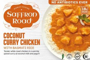 MILD COCONUT CURRY CHICKEN WITH BASMATI RICE