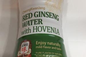 Red Ginseng Water With Hovenia