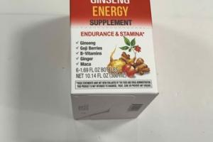 ENDURANCE & STAMINA* ENERGY SUPPLEMENTS, CITRUS FLAVOR