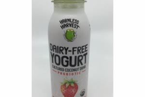 STRAWBERRY DAIRY-FREE PROBIOTIC YOGURT CULTURED COCONUT DRINK