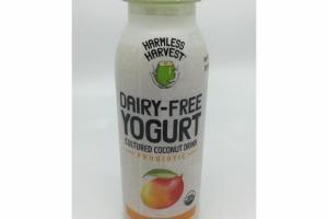 DAIRY-FREE PROBIOTIC MANGO YOGURT CULTURED COCONUT DRINK