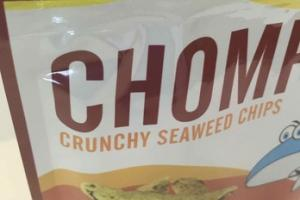 BARBECUE FLAVOR CRUNCHY SEAWEED CHIPS