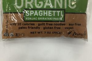 Organic Spaghetti Konjac Shirataki Pasta