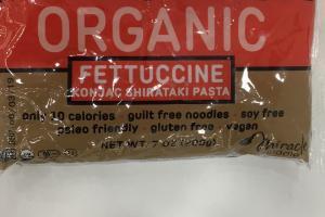 Organic Fettuccine Konjac Shirataki Pasta