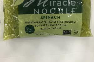 Spinach Shirataki Pasta