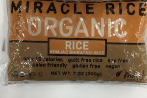 Konjac Shirataki Rice