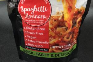Shirataki Konjac Noodles With Marinara Sauce