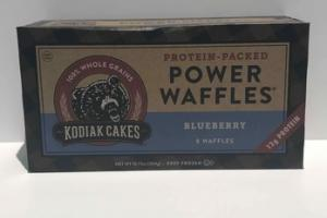 BLUEBERRY POWER WAFFLES