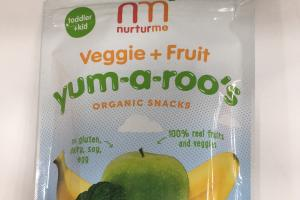 Yum-a-roo's Organic Toddler Snacks