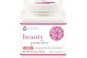 BEAUTY REDUCES FINE LINES & WRINKLES DIETARY SUPPLEMENT POWDER, CITRUS