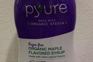Organic Maple Flavored Syrup
