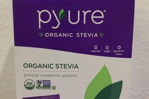 Organic Stevia Granular Sweetener Packets