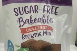 CHOCOLATE FUDGE SUGAR-FREE BAKEABLE BROWNIE MIX