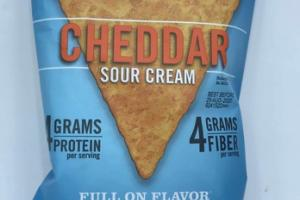 CHEDDAR SOUR CREAM BEAN CHIPS