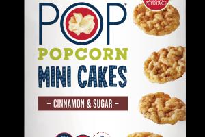 CINNAMON & SUGAR POPCORN MINI CAKES