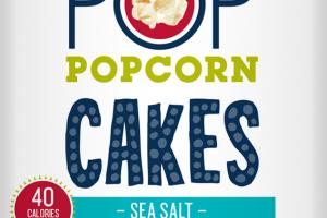 SEA SALT CAKES POPCORN