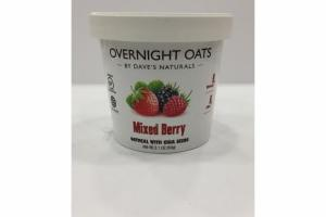 MIXED BERRY OATMEAL