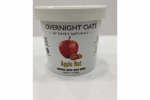 APPLE NUT OATMEAL WITH CHIA SEEDS OVERNIGHT OATS