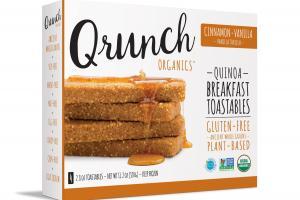 Cinnamon-vanilla Quinoa Breakfast Toastables
